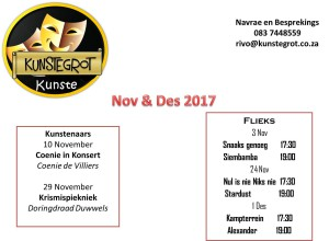 Aanbiedings van November